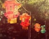 Magic lanterns - 8x8 fine art print