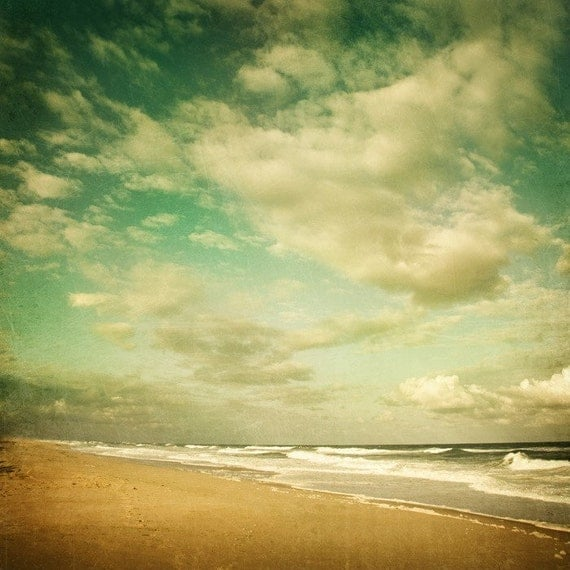 Fine art photograph - Letting go of time -  ocean - beach