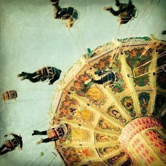 The Swing Set - Fine art photograph - fair - carnival
