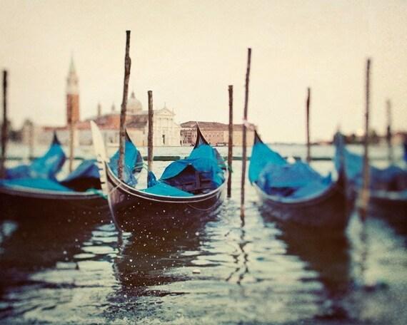Venice Art, Venice Photography, Italy Art Print, Gondolas, Romantic Art Travel Photography, Italian Wall Decor, Grand Canal - Sploosh
