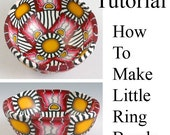 Tutorial - How to Make Little Ring Bowls Using a Glass Form - NEW LOW PRICE