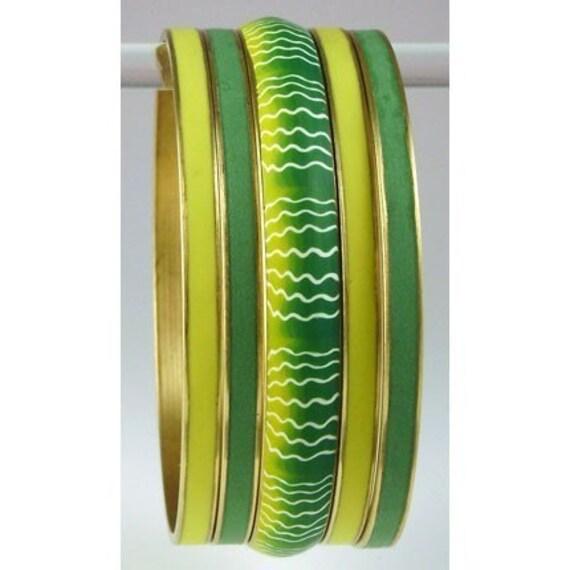Brass Channel Bangle Bracelet - Narrow 1/8th inch