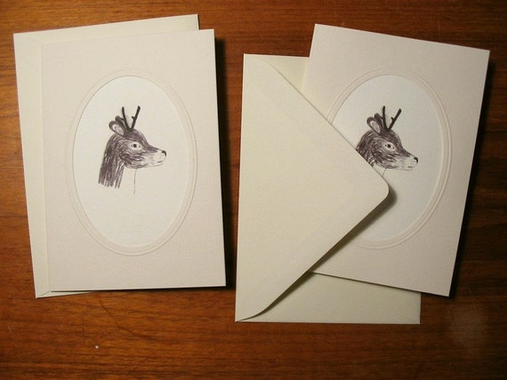 Deer card set