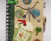 Notebook with snap closure-Recipes-MiXeD MeDiA