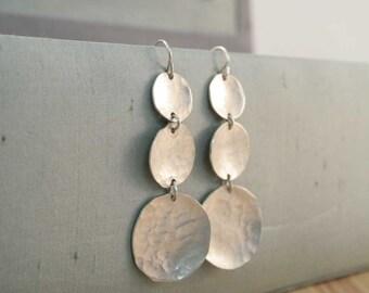 chandelier earrings.