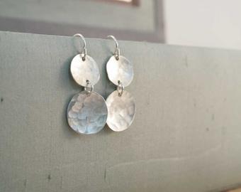 double chandelier earrings.