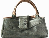 Moss Green Executive Handbag