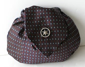 Upcycled Bag from a Silk Tie