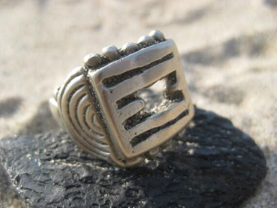 Old Silver Fulani RIng