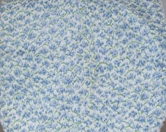 Blue Blossoms Baby Toddler Bib
