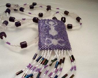 Goddess-Pentagram Amulet Bag
