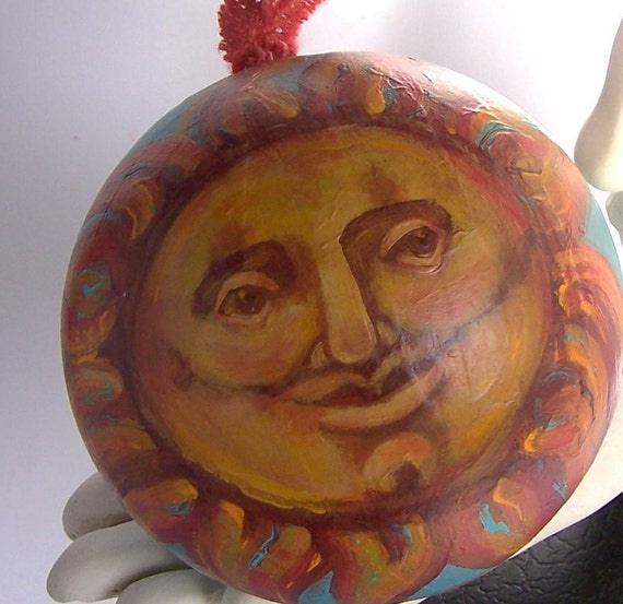 Helios Hand Painted Ornament