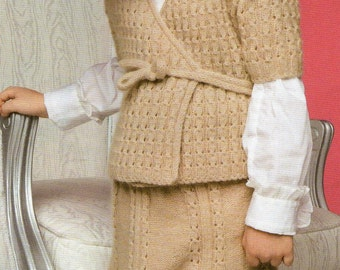 A Soft Pastry Kimono Sweater and Skirt
