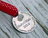CHRISTMAS 2009 ornament