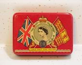 Queen Elizabeth tin