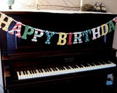 Custom Order for  Denise - Happy Birthday Banner