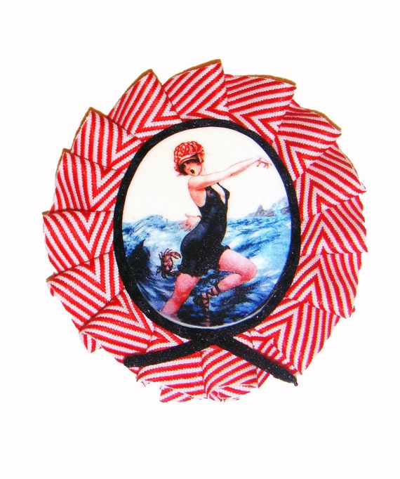 Summer Flapper Brooch - The Crab
