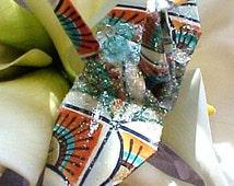 Wedding Cake Topper, Peacock Art Deco Decoration Peace Crane Bird Party Favor Origami Christmas Ornament Paper Anniversary Table Decoration
