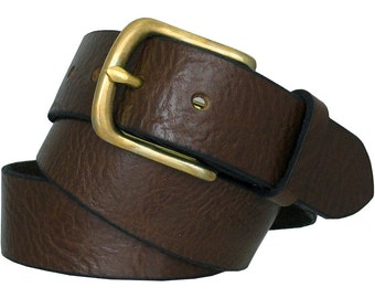 Leather Snap Belt Strap