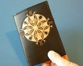 Hand-Tooled Leather Passport Cover