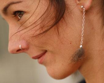 Foxy Earring chain grey