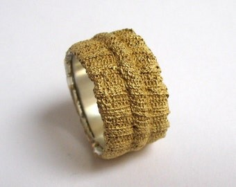 Rippring Buendchen gold plated