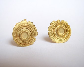 Shot Earrings gold plated
