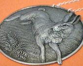 Leaping Jack Rabbit Necklace