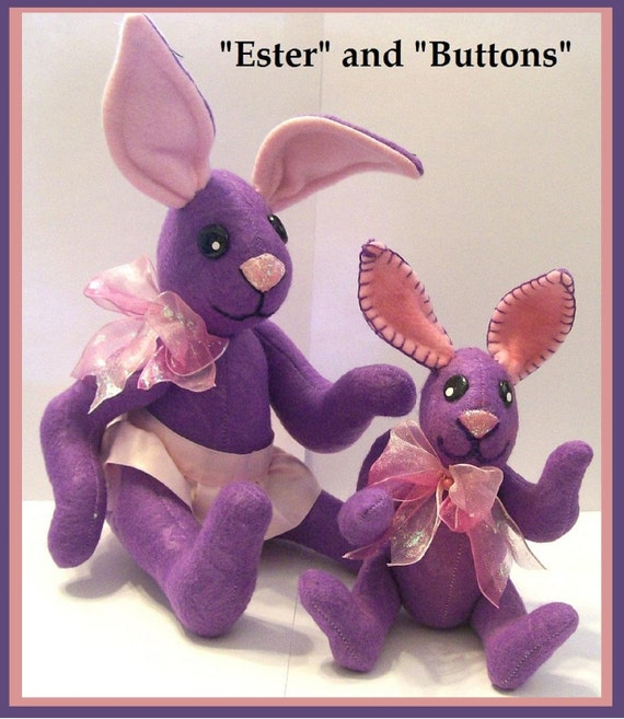 Ester and Buttons Bunnys E-Pattern