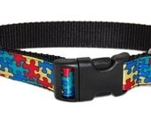 Autism Awareness Dog Collar will help a boy bring home his service dog