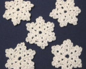 Ornament - Crocheted Snowflake