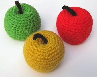 Crocheted Apples