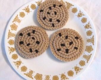 Chocolate Chip Cookies - Crochet