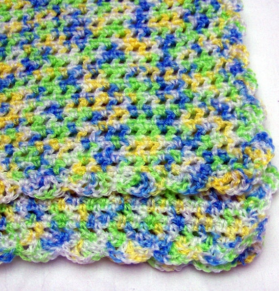 Multicolored Baby Afghan