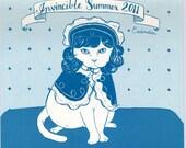 SALE 2011 Invincible Summer Animal Calendar