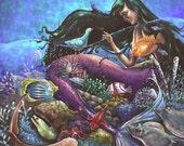 Ocean Reef Print 12x12