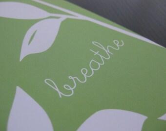 Breathe - Notecard