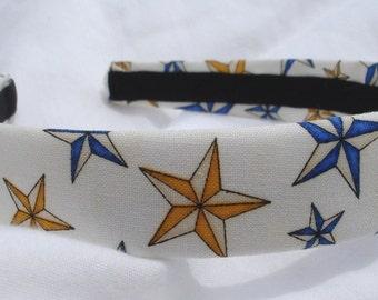 Nautical Star Headband LAST ONE