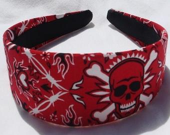 Skull Bandana Headband