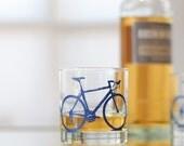 4 bike rocks glasses, blue bicycle
