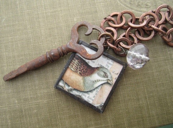 The Secret Window Flourite Necklace