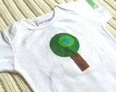 Birdie in a Tree - Baby Onesie - Size LARGE - 6 to 9 Months