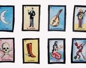 Custom Listing for pedronavarro1: Mexican Loteria Bingo Patches- Set of 3 -You Pick