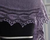 Melosa shawl knitting PDF