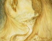 Smaug  Print 8x10 Dragon from the Hobbit