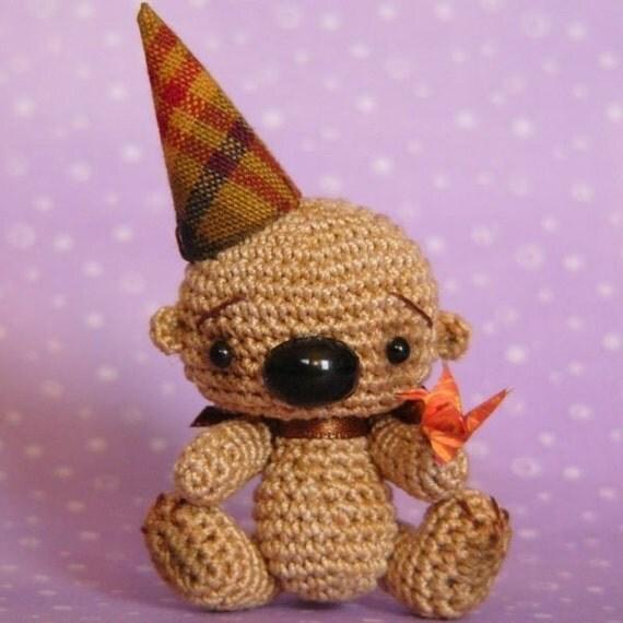 PDF PATTERN - Japanese Amigurumi Bear Crochet Tutorial Pattern