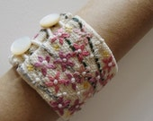 Embroidered Cuff Bracelet III