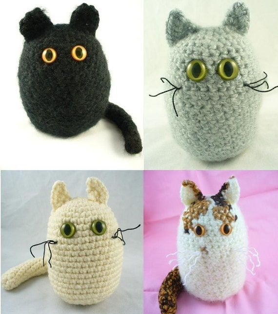 Amigurumi Cat Crochet Pattern : Crochet amigurumi cat pattern