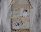 Vintage wallpaper pouch