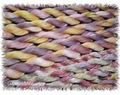 FAERIES   Size 50   hand dyed TATTING crochet embroidery CQ  cotton thread   6 cord